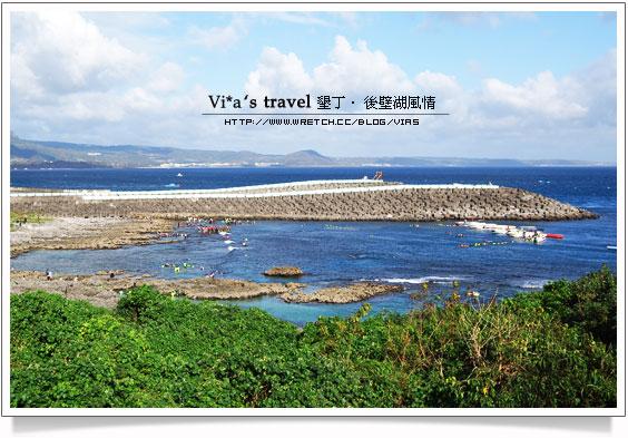 【墾丁旅遊景點】墾丁後壁湖漁港~浮潛熱門景點