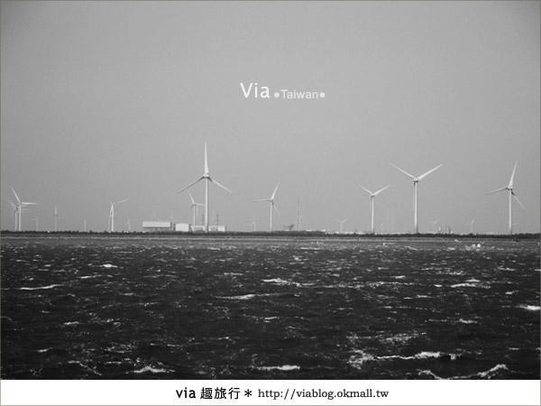 【彰化一日遊】走訪鹿港玻璃廟及彰濱大風車之旅~