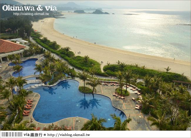 【沖繩海濱飯店】名護市‧THE BUSENA TERRACE~渡假風濃郁的海灘飯店!