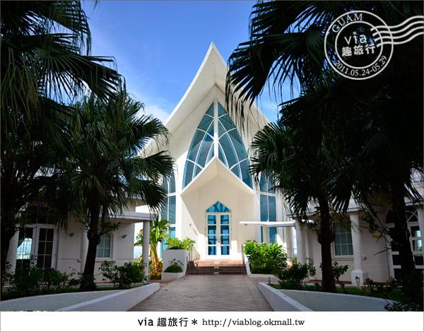 【關島教堂】海外婚禮浪漫美地!到關島結婚去~