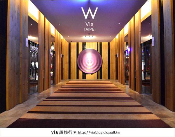 【台北W飯店】TAIPEI @ W HOTEL~時尚奢華飯店大廳、設施篇