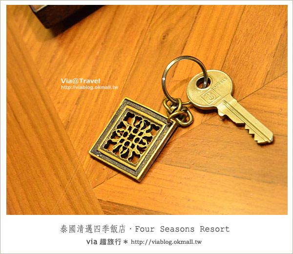 【清邁住宿推薦】清邁四季飯店Four Seasons Resort Chiang Mai(住房篇)