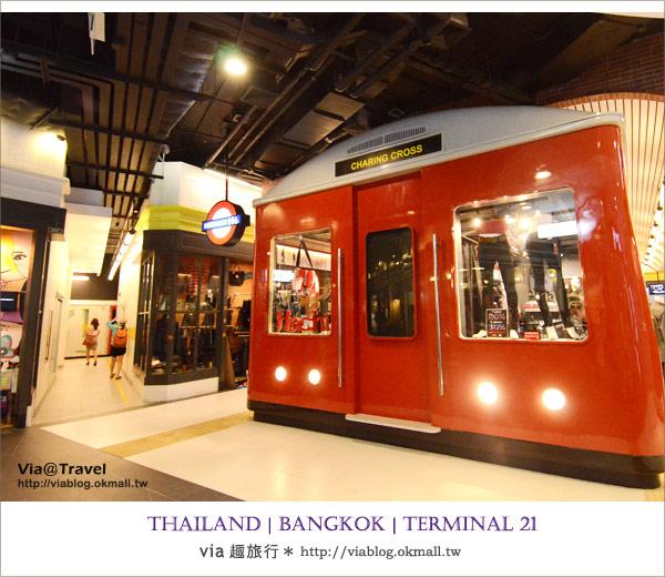 【泰國自由行】TERMINAL 21<21航站>在百貨公司裡環遊世界!(上集)