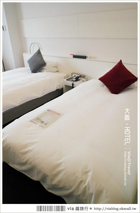 【大阪十字酒店】交通地點超好的大阪旅館~CROSS HOTEL OSAKA