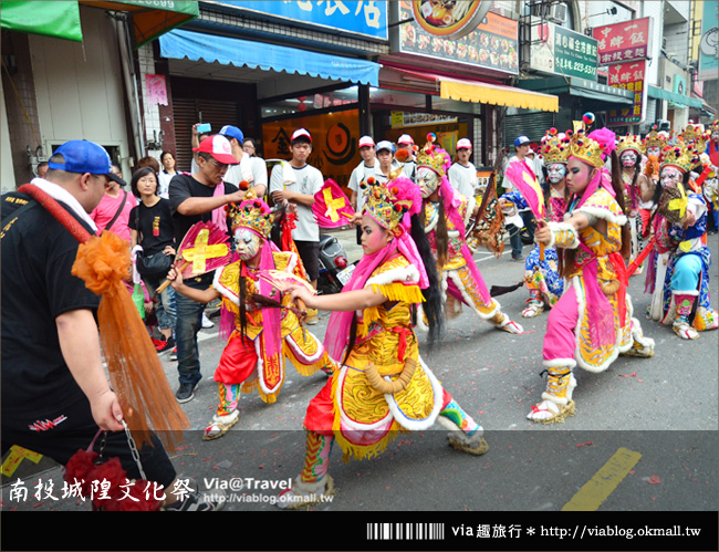 【南投廟會遊行】南投配天宮城隍聖誕文化祭~市區遊行篇!