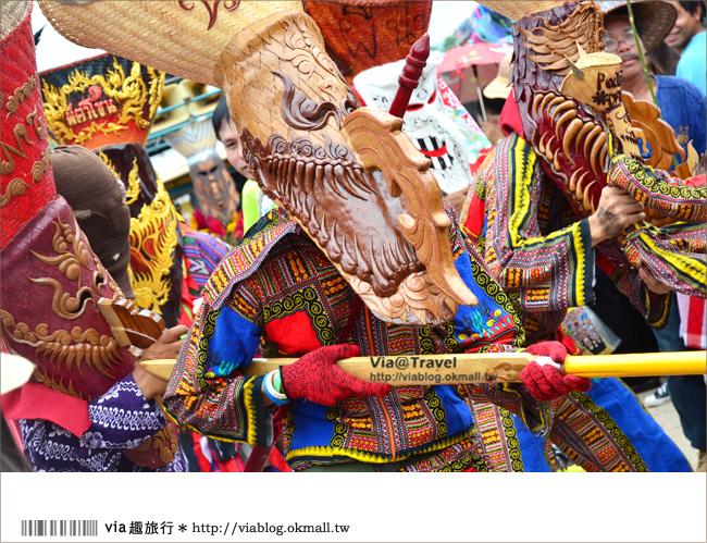 【via泰國】泰國鬼臉節~泰國東北一年一度的盛大鬼節遊行嘉年華!(上集)