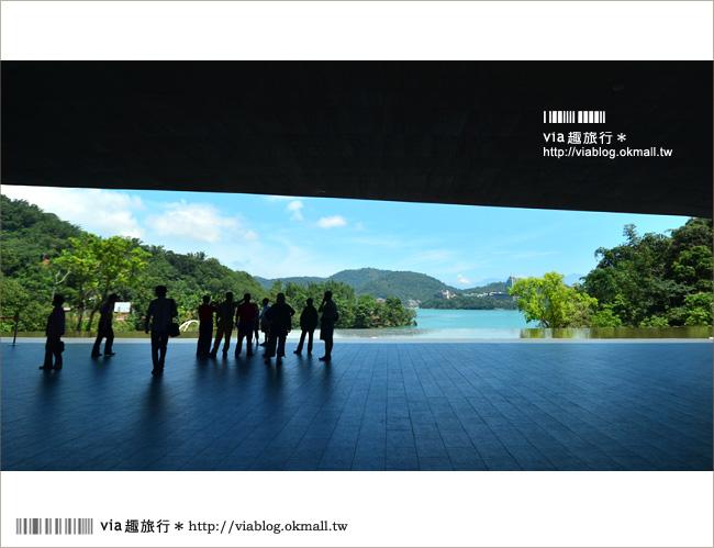 【向山遊客中心】日月潭向山遊客中心~全台最美的建築物之一!