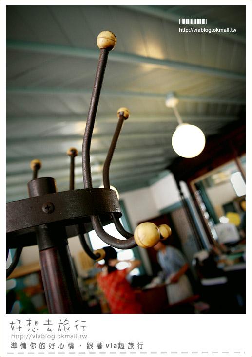 【島原景點】下集》青色理髮廳咖啡館~理髮館不理髮,來個女孩們愛的下午茶