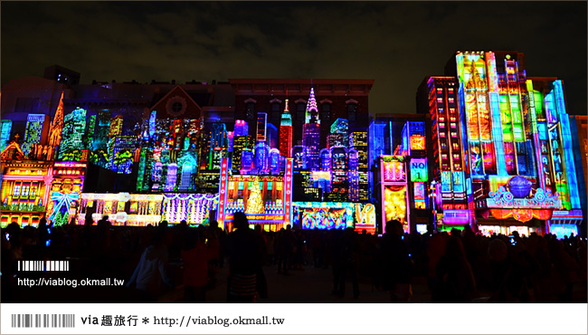 【大阪環球影城】環球影城過耶誕~世界最大光之耶誕樹+超精彩天使奇蹟秀!