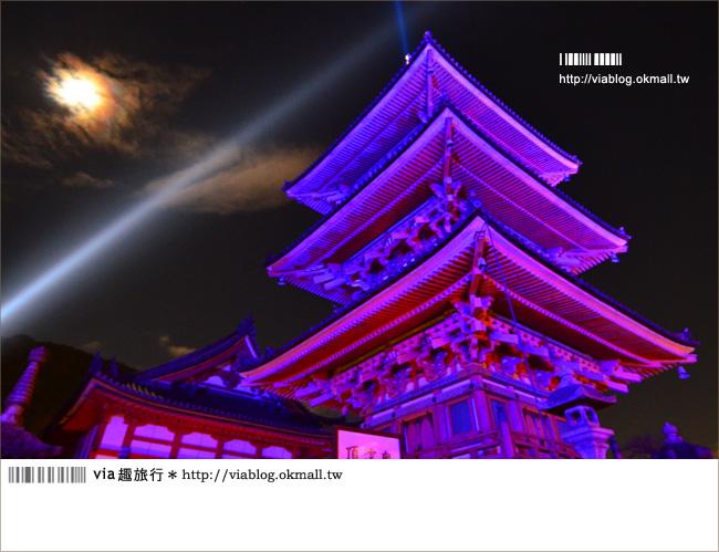 京都清水寺》京都夜楓必遊景點~京都清水寺夜楓