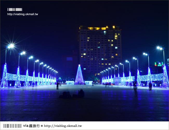 【台中耶誕節活動】來台中市政府~渡過夢幻的藍色耶誕節