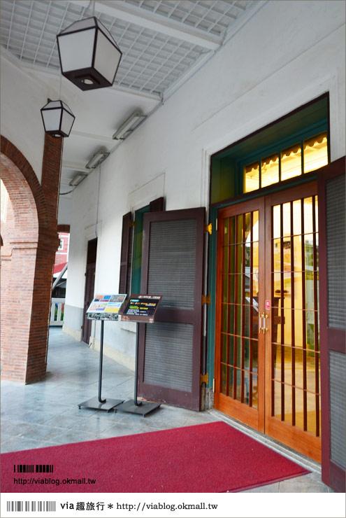 台南知事官邸》台南知事行館~異國風的老古蹟、新景點!