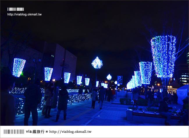 【大阪】冬季限定!大阪中之島「光之文藝復興彩燈節」~浪漫吧!大阪!