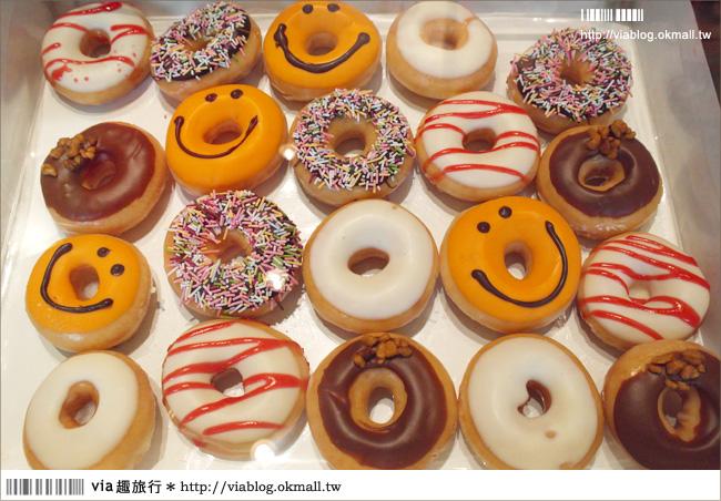 【耶誕限定】Krispy Kreme甜甜圈 大阪心齋橋店。耶誕節限定三種口味!