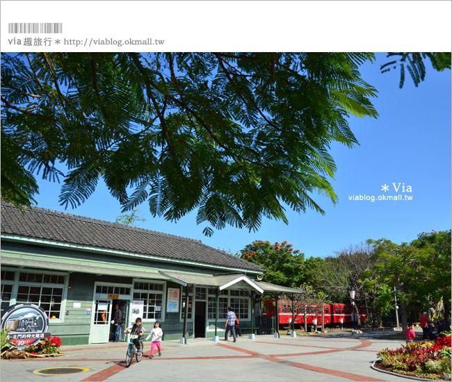 【嘉義旅遊景點】舊北門車站~美麗的車站。我的嘉義,老時光的旅行(1)