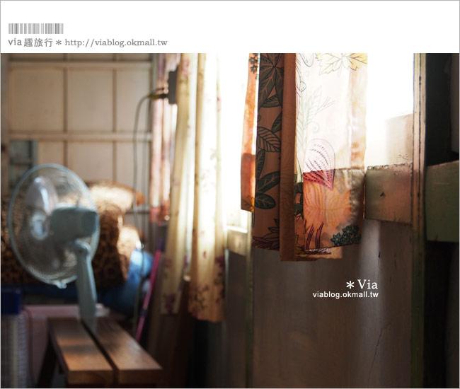 【嘉義旅館】玉山旅社咖啡~老屋的懷舊住宿。我的嘉義,老時光的旅行(2)
