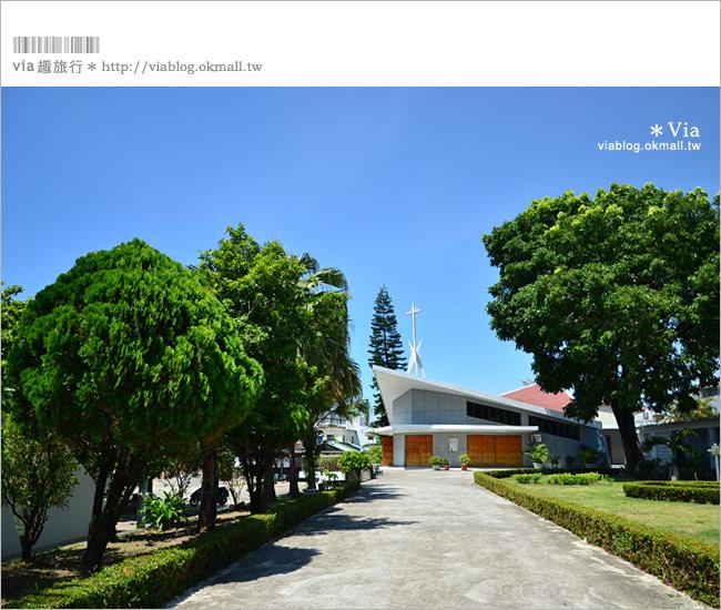【台東景點推薦】台東都蘭天主堂~一座有著意象船型的希望教堂!