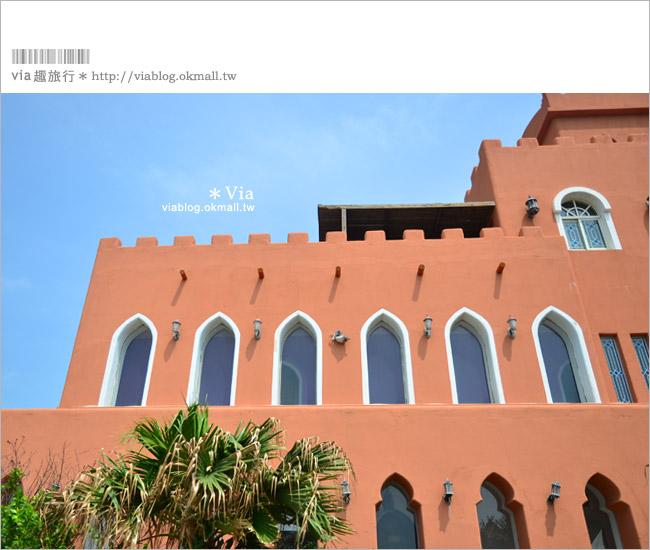 【澎湖民宿】澎湖北非花園旅店~全台最具異國風民宿之一!