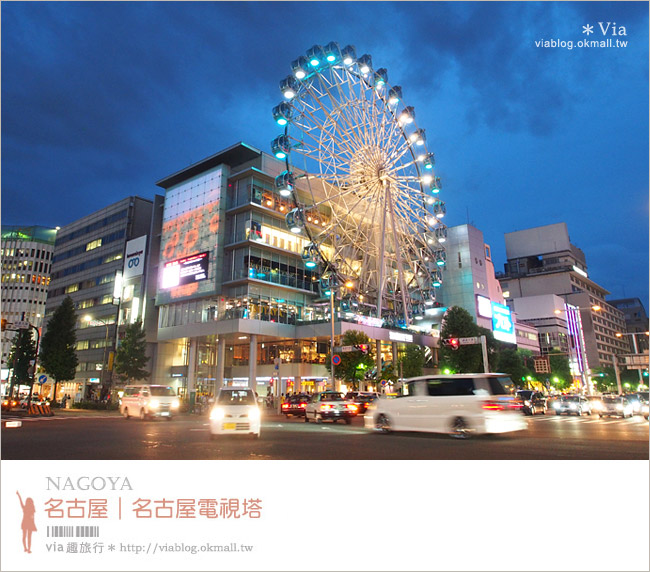 【名古屋自由行】名古屋電視塔+宇宙船綠洲21~推薦必拍的美麗電視塔夜景!