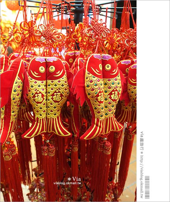 【新加坡逛街推薦】牛車水夜市(Chinatown)~夜間逛街就往這裡出發吧!