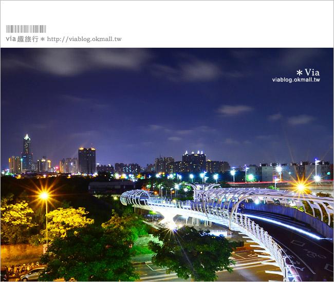 【高雄景點推薦】前鎮之星自行車道~白天、夜晚都很適合拍照的美麗景點!