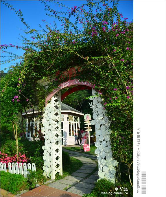 【新社美食推薦】安妮公主景觀餐廳~夢幻庭園風的下午茶選擇
