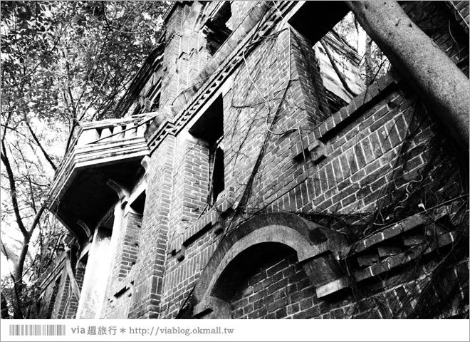 民雄景點》民雄鬼屋~幽靜荒廢的「劉家古厝」‧全台最知名的鬼屋!