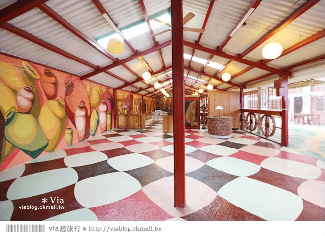 【雲林景點推薦】北港春生活博物館~來自捷克藝術家的美妙彩繪作品!