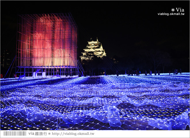 【大阪城公園】初登場!大阪城3d光雕秀~冬季限定!關西推薦必看的浪漫燈節