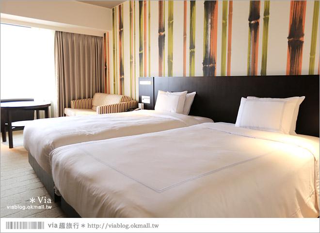 【大阪飯店介紹】難波地鐵站樓上@大阪瑞士南海飯店Swissotel Nankai Osaka Hotel/交通方便/景觀超美