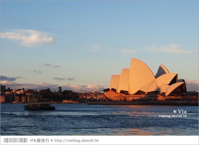 【澳洲景點推薦】雪梨歌劇院~夜拍好美!旅人們到雪梨必去的地標性景點