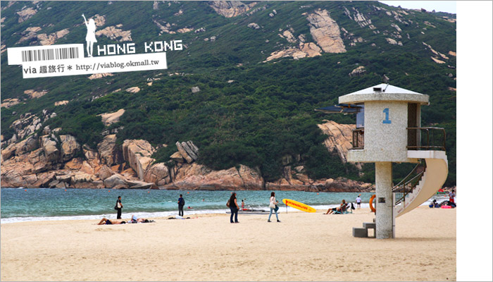 【香港景點推薦】石澳海灘+彩色小村+Cococabana異國風餐廳的美妙小散策旅行~