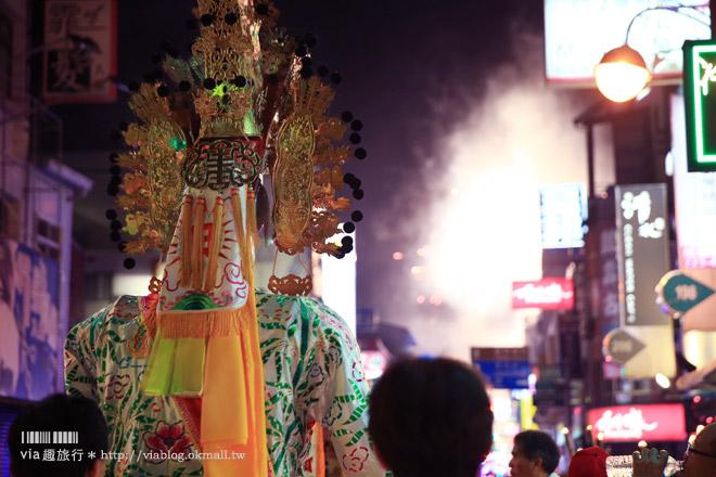 【南投旅遊】2014南投城隍聖誕文化祭《夜巡篇》/夜間遊行熱鬧又繽紛!