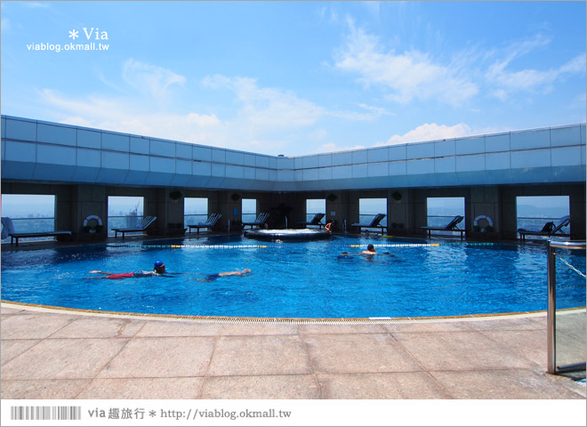 台北住宿》台北遠東香格里拉大飯店~擁有眺望101最美角度的城內最高景觀房!