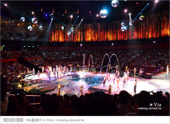 【澳門水舞間】新濠天地水舞間~澳門必看的秀!全球最壯觀的水上匯演~精彩必賞