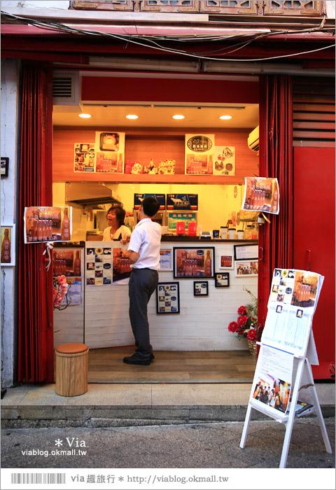 【澳門景點】紅窗門街(福隆新街)/新華大旅店~一條有著濃郁東方味的復古街弄