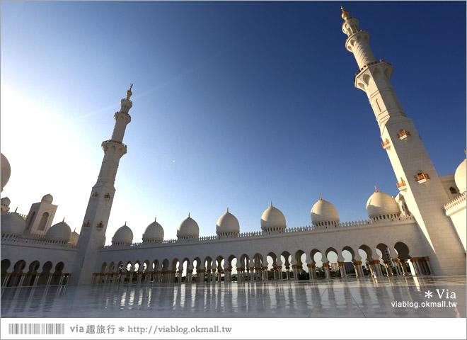 阿布達比旅遊》謝赫扎耶德大清真寺(Sheikh Zayed Grand Mosque)~超美!世界造價最高的清真寺