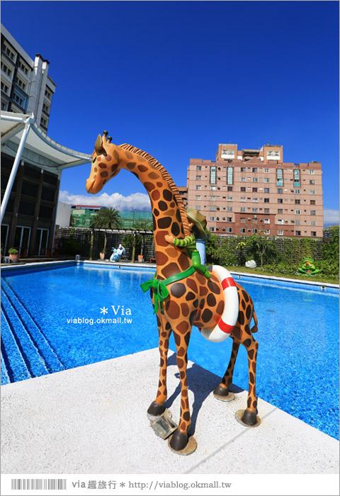 【花蓮翰品酒店】花蓮幾米飯店~住進童話繪本裡,與幾米共宿幸福一晚《外觀設施篇》