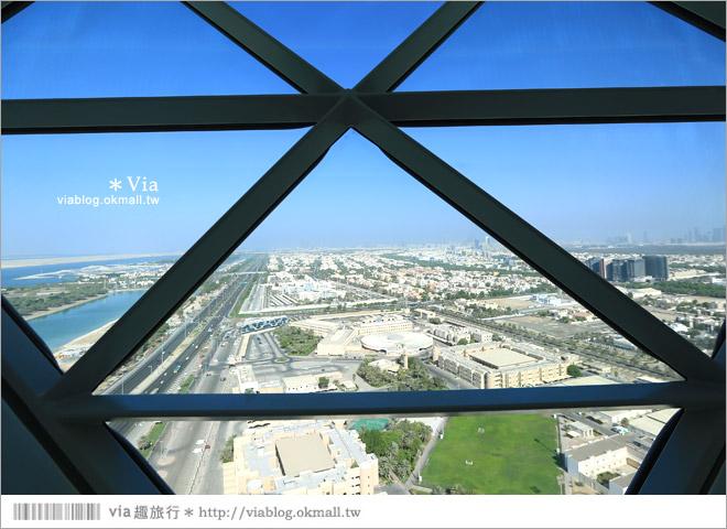 阿布達比住宿》首都門凱悅酒店(Hyatt Capital Gate Abu Dhabi)~超炫!世界上最傾斜的人工大樓