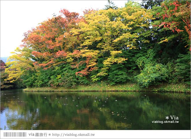 【福島旅遊景點】鶴之城/會津若松城~日本百選名城之一!日本國內唯一使用赤瓦的古城