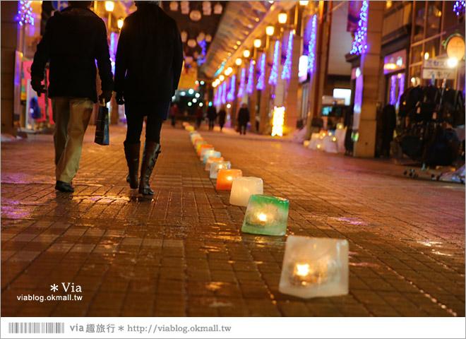 【小樽雪燈之路】北海道小樽雪祭~浪漫必訪!小樽運河雪景美不勝收~戀人們的最愛