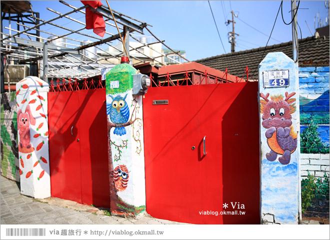 【老兵文化園區】台南老兵彩繪眷村~一處有故事的繽紛彩繪村!