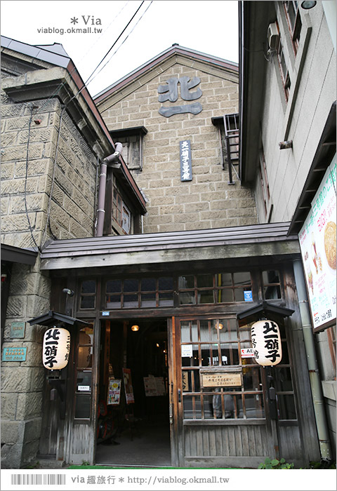 【小樽景點】私の小樽散策~小樽觀光案內所、舊手宮線鐵道、出抜小路、三角市場散散步