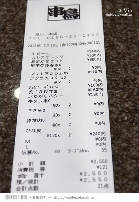 【北海道美食推薦】旭川美食~串鳥旭川本店(非總本店)當地連鎖美味串燒店!