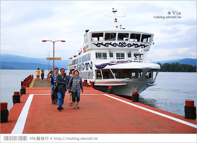 【北海道旅遊景點】阿寒湖溫泉~散策溫泉街,感受悠緩迷人的阿寒湖美景