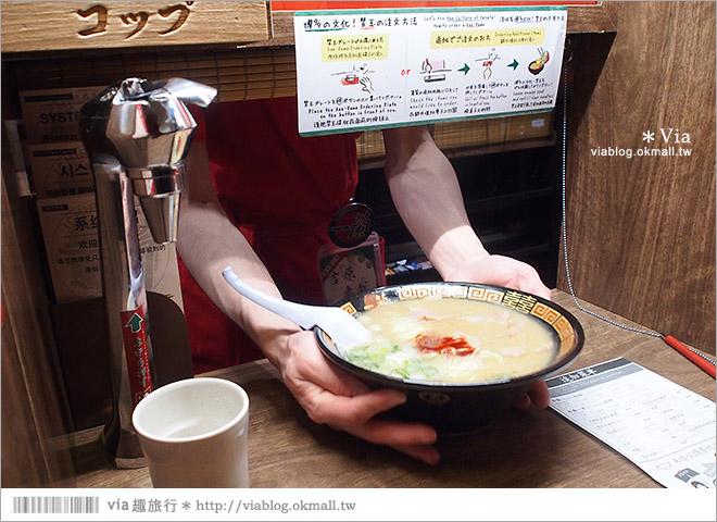 【大阪拉麵】一蘭拉麵道頓堀分店~總是大排長龍的人氣拉麵店!