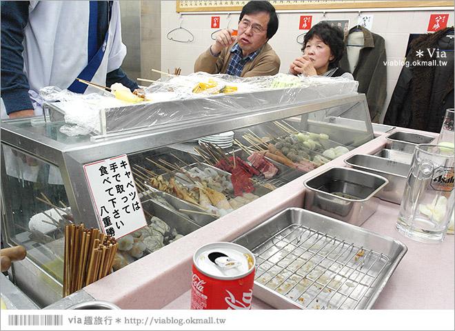 【大阪美食】八重勝串炸~通天閣人氣餐廳!愛吃串炸的人趕快來報到!