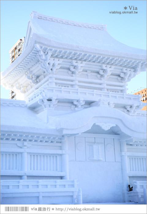 【札幌雪祭】札幌雪祭‧大通公園雪祭會場~再感受一次盛大雪雕的魅力《白天版》