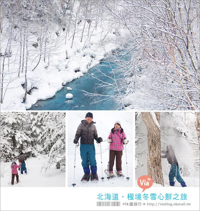 【北海道冬季旅遊行程】北海道賞雪旅遊~Via的北國賞雪五日遊行程全記錄