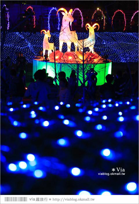 【台中燈會】大里燈會~大里文創聚落燈區!浪漫彩燈門廊賞燈趣